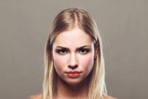Umore e colore del volto